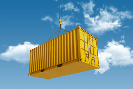 Container Shipping Options at International Van Lines