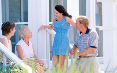 How to get friendly with new neighbors