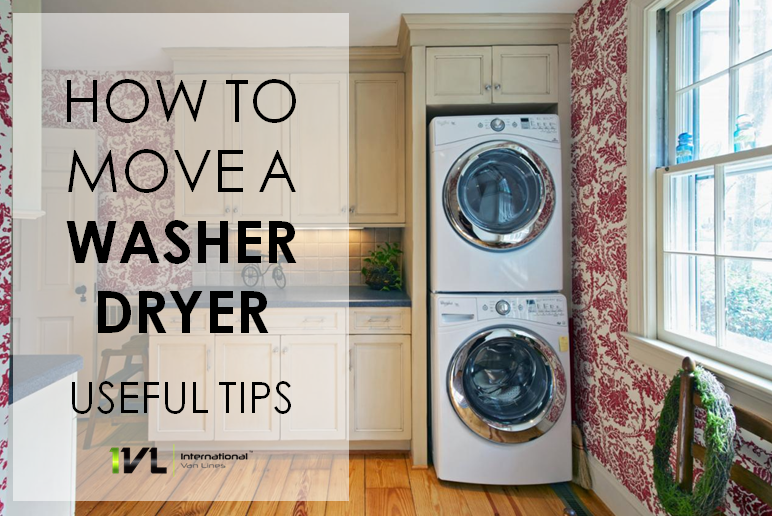 Move a Washer Dryer