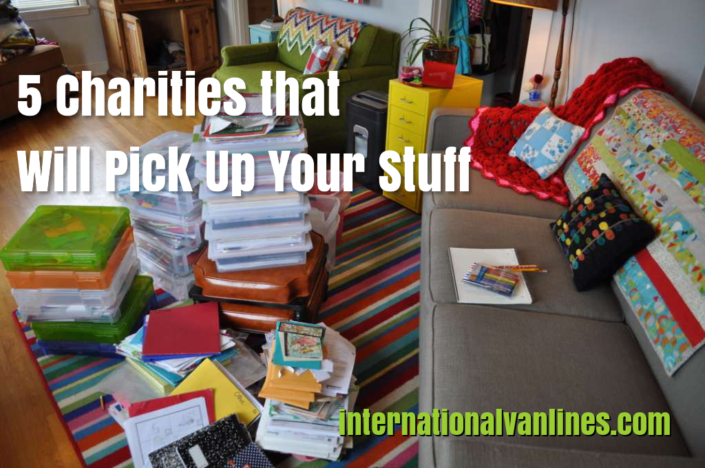 Charities that pick up your stuff