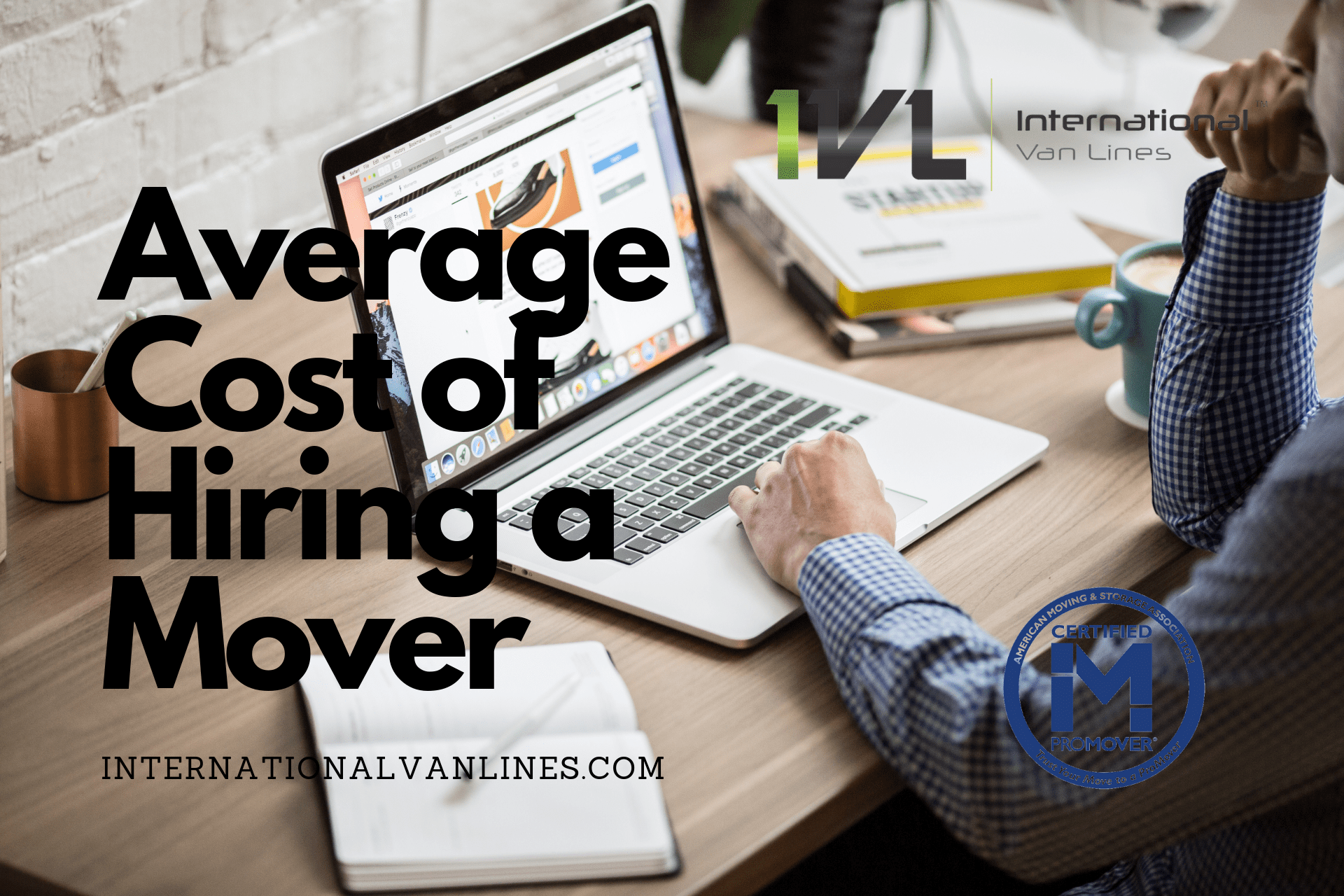 Average cost of hiring a mover