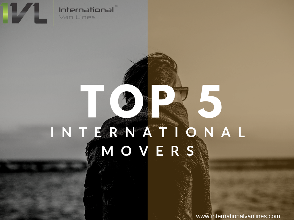 top 5 international movers