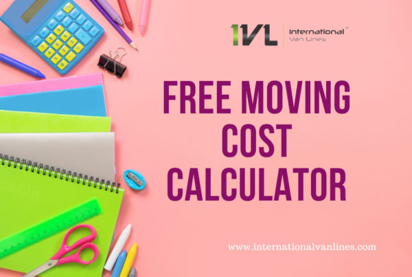 Free Moving Cost Calculator