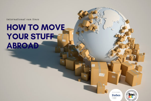 move your stuff abroad