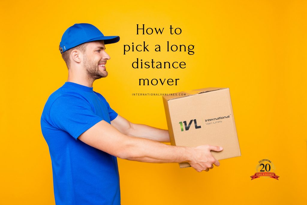 How to pick a long distance mover