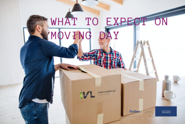 what to expect on moving day