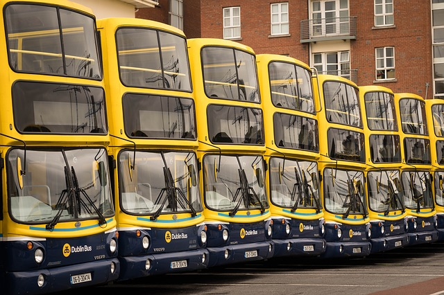 Dublin buses are known for not being on time