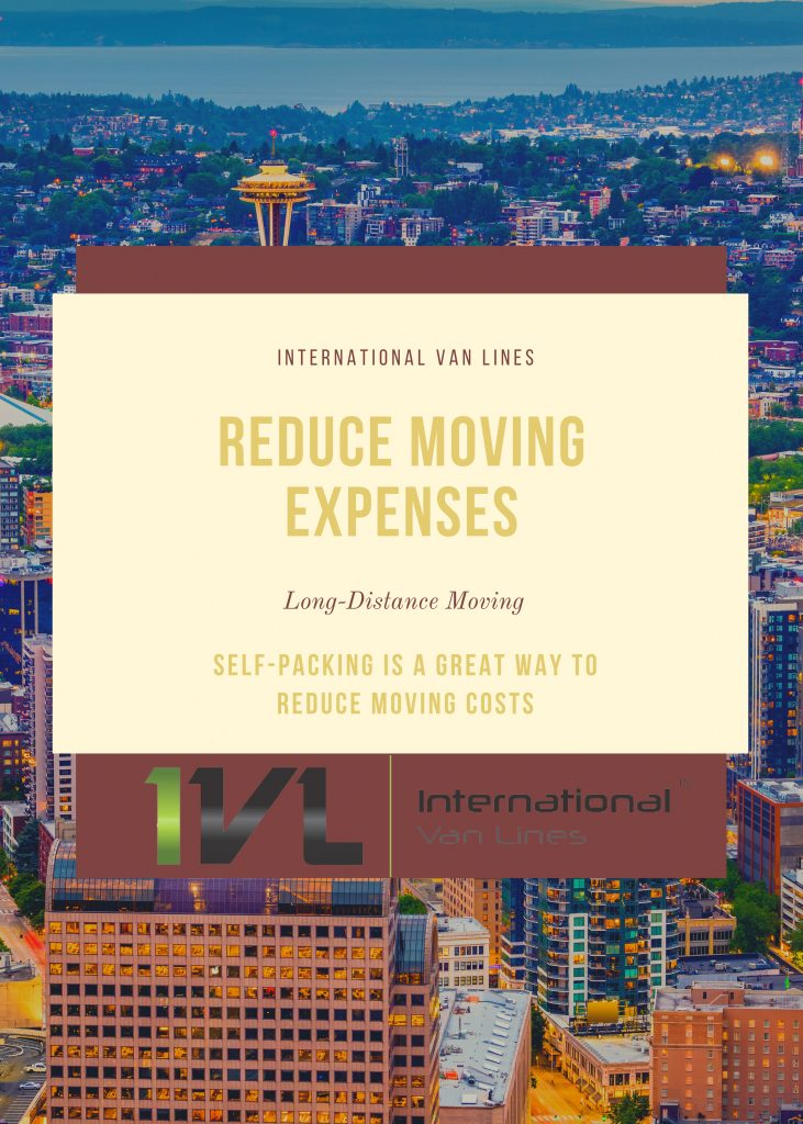 Typical Moving Expenses vary