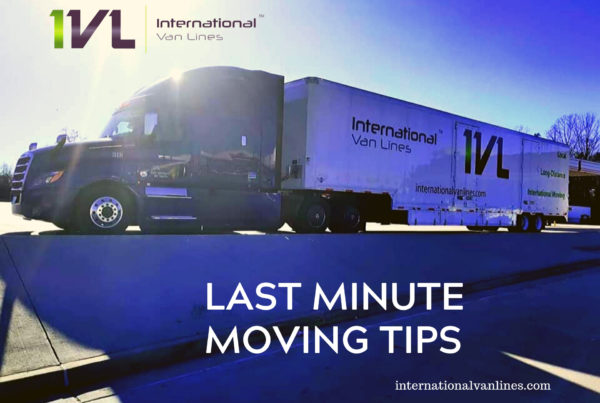 last minute moving tips