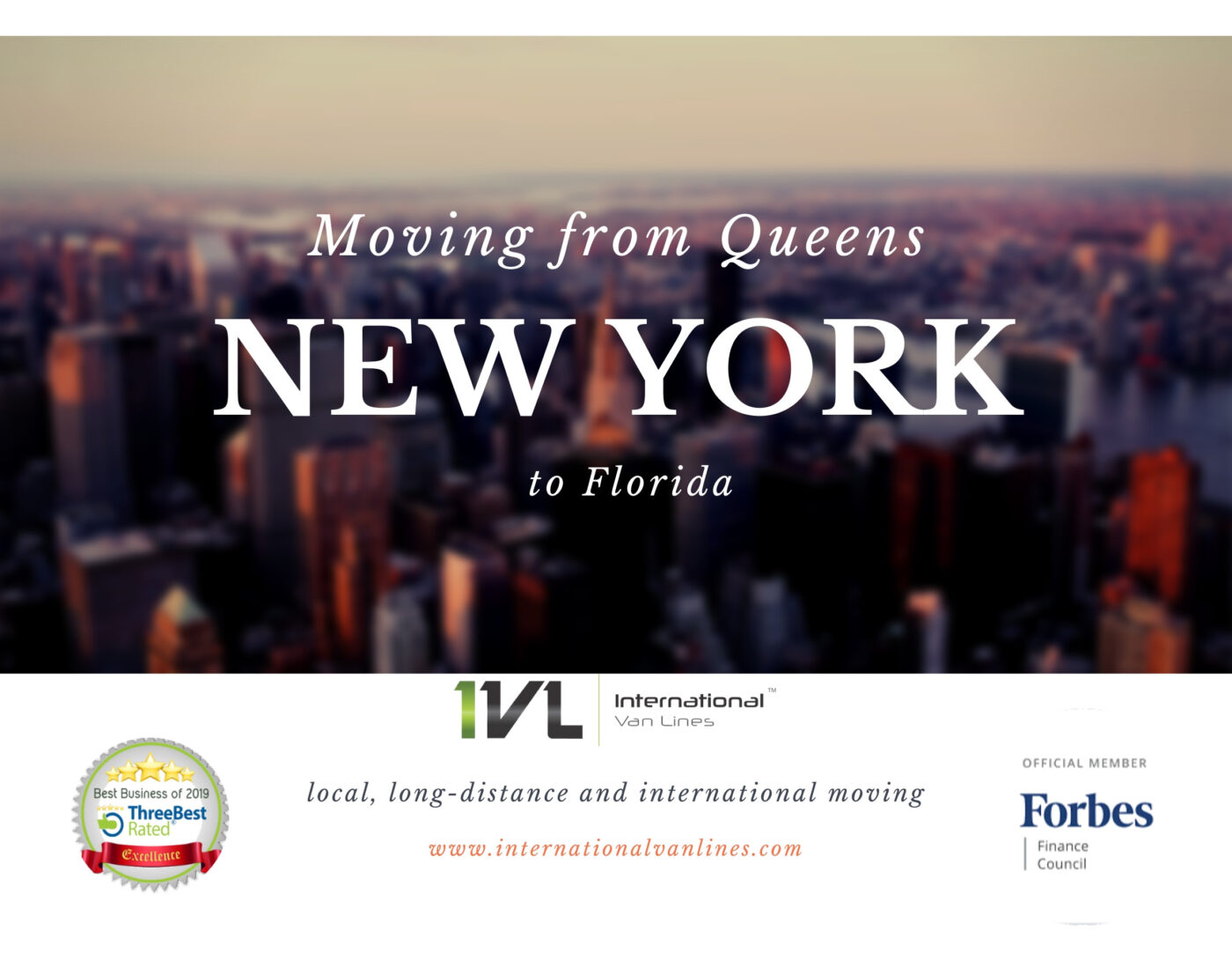 The cost of moving from Queens, NY to Florida