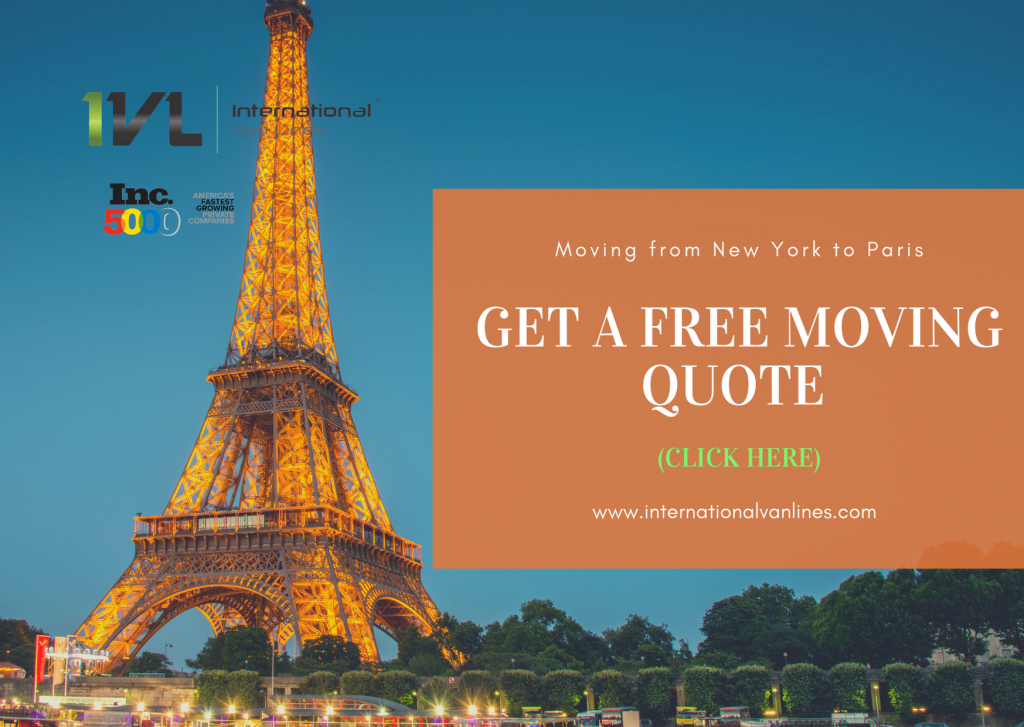 Moving from new York to Paris France