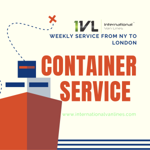 Container service from NY to London