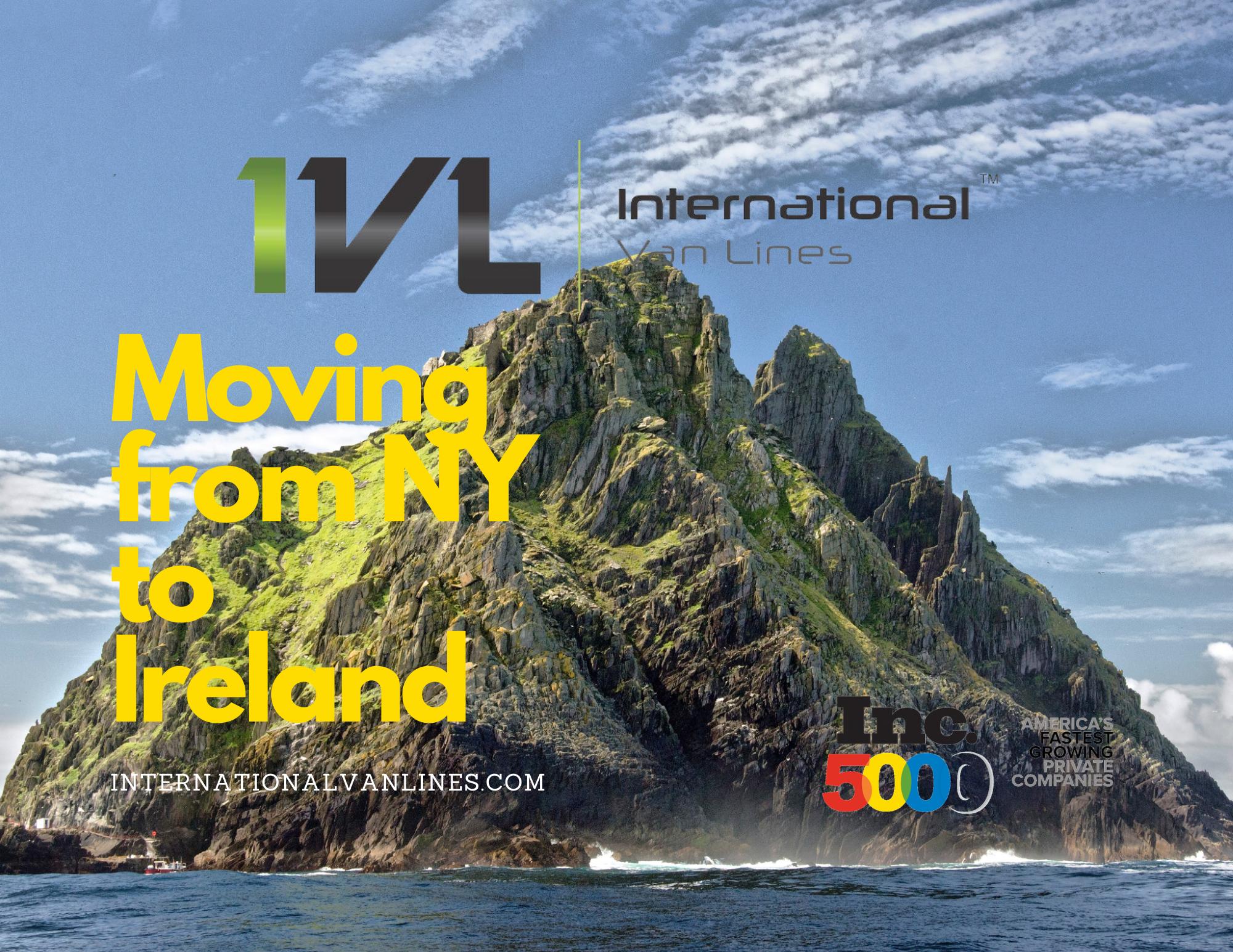 Moving from NY to Ireland