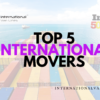 Best International Moving Companies