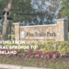 moving from coral springs to parkland fl