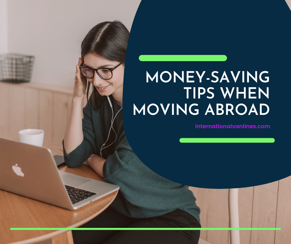 Girl looking for cost saving on her international move