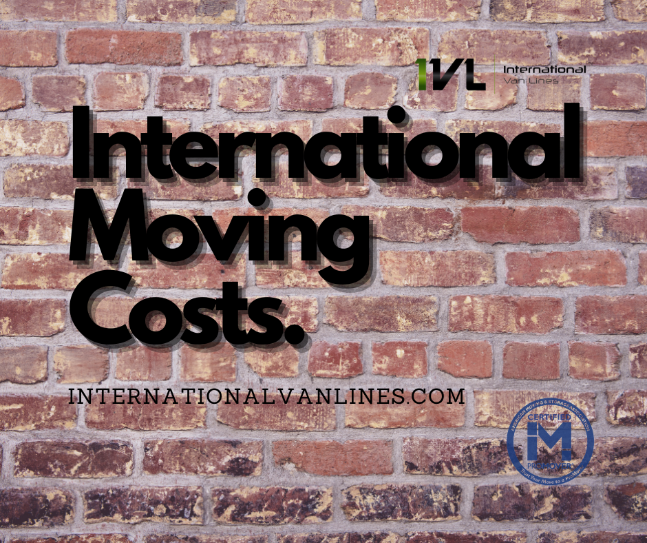 Find international moving costs
