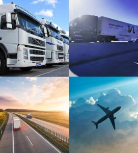 Ocean and air freight for moving to Los Angeles to France