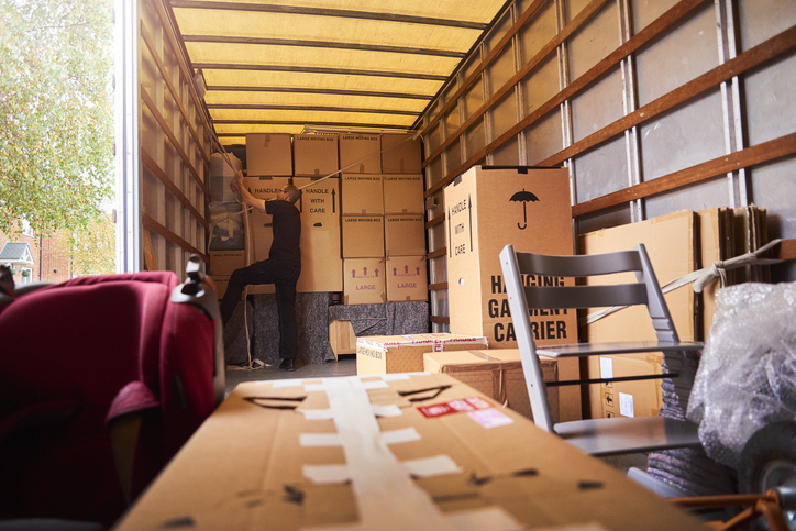 National Moving Cost Increases in 2021