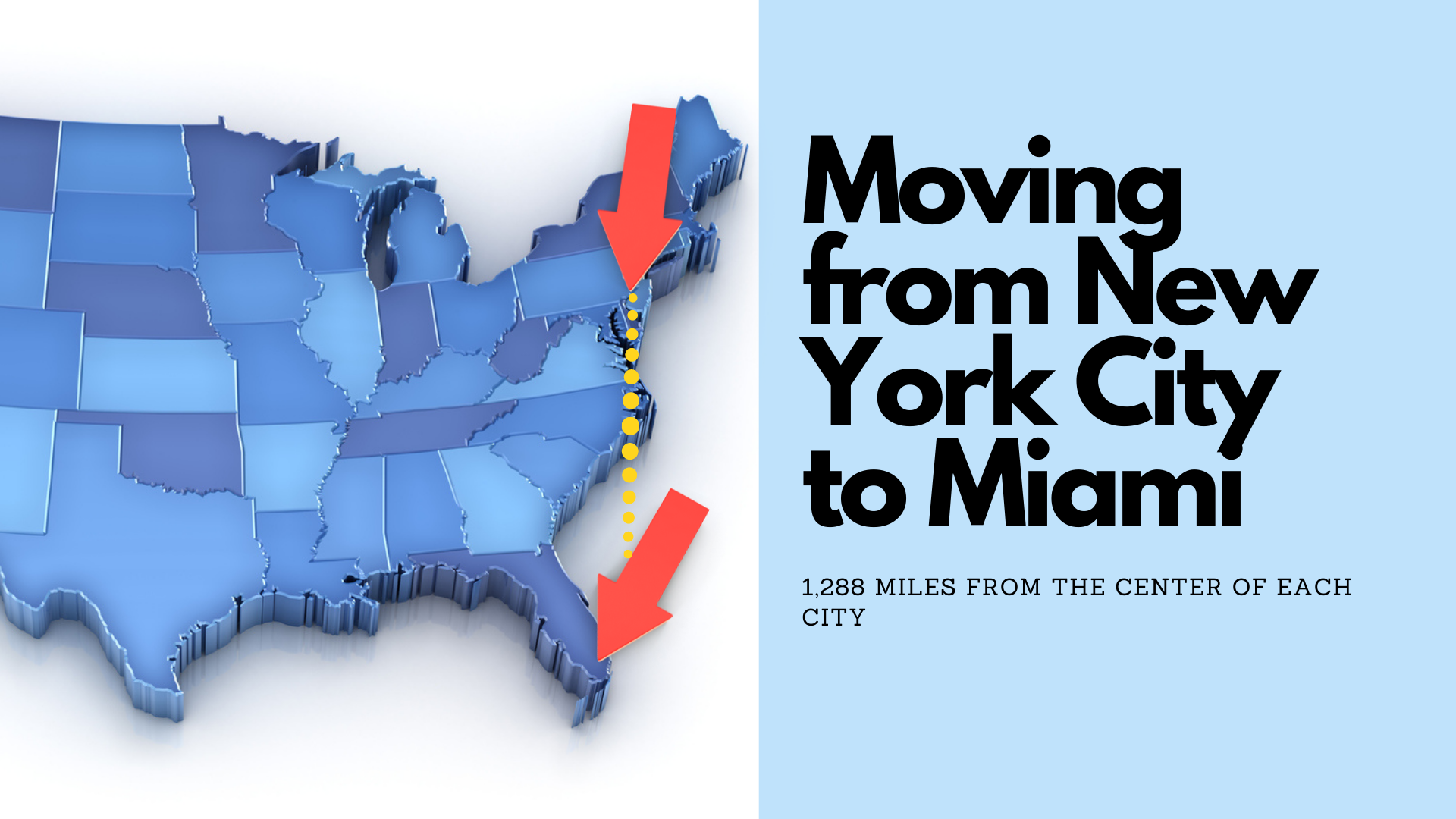 Moving from New York City to Miami